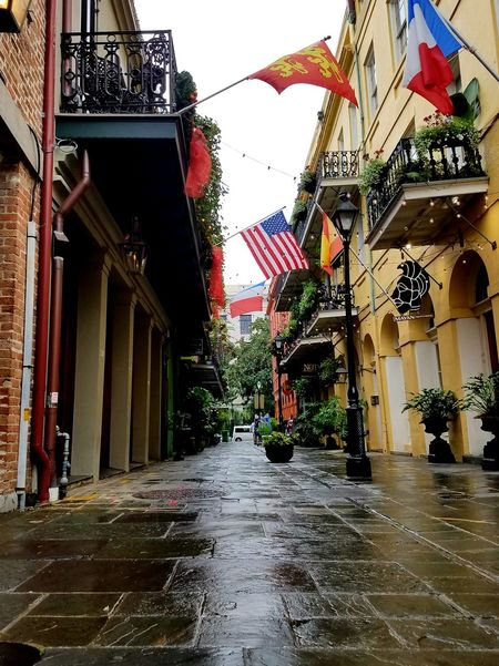 New Orleans French Quarter Water Built Structure Architecture Building Exterior Outdoors Tree Day City No People