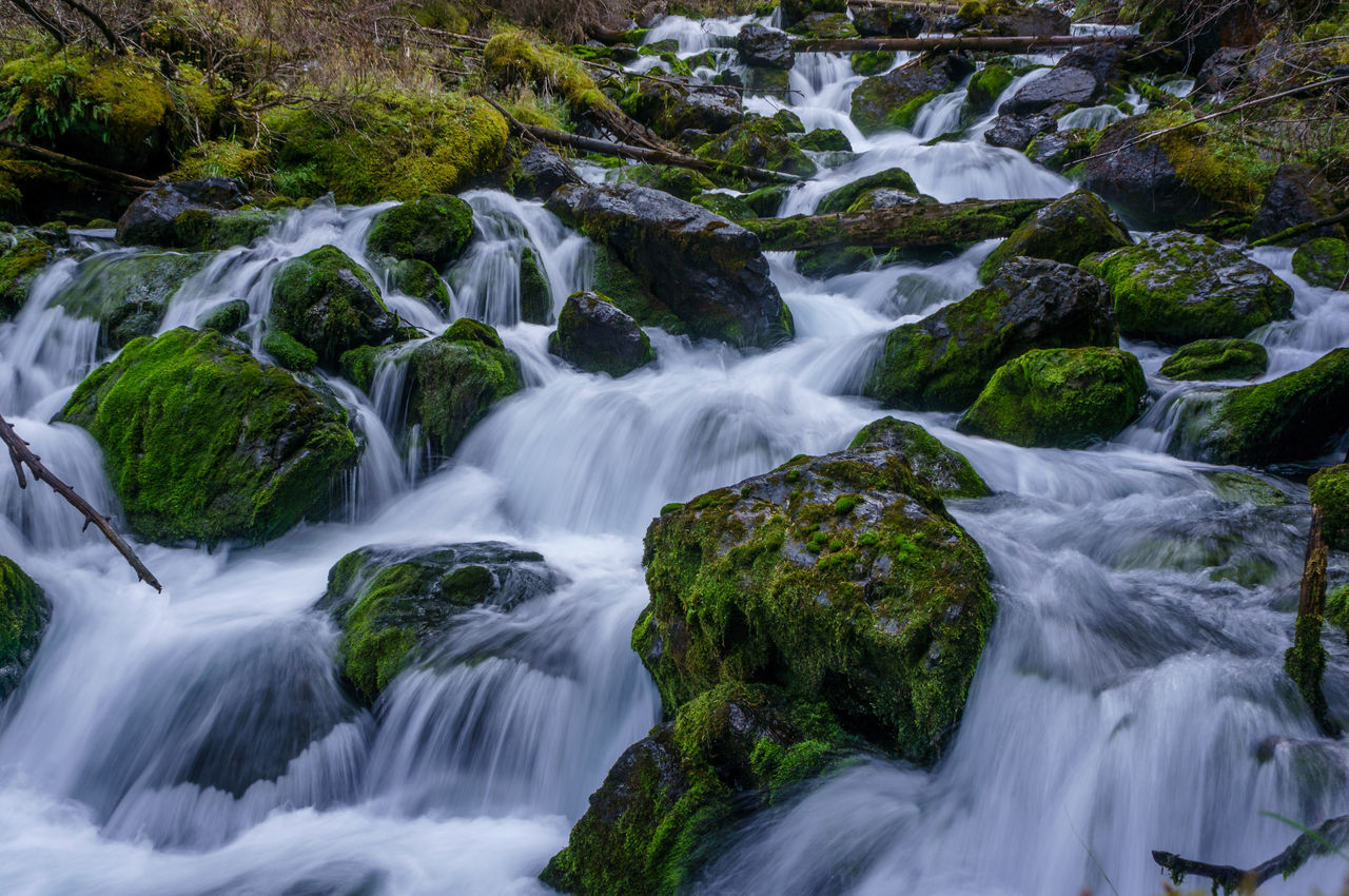 Beauty In Nature Day Freshness Long Exposure Motion Nature No People Outdoors Scenics Water Waterfall