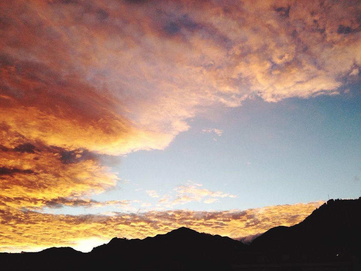 Bogotá Colombia Cerros Orientales Amanecer Clouds And Sky Cloudporn Lexscapes Landscape