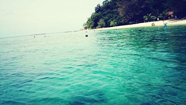 Island Enjoying Nature Blue Water