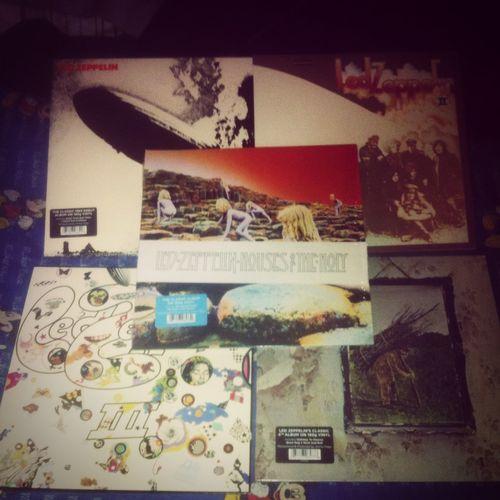 Led Zeppelin Vinilos Vynil colección completa ! La raja!!!