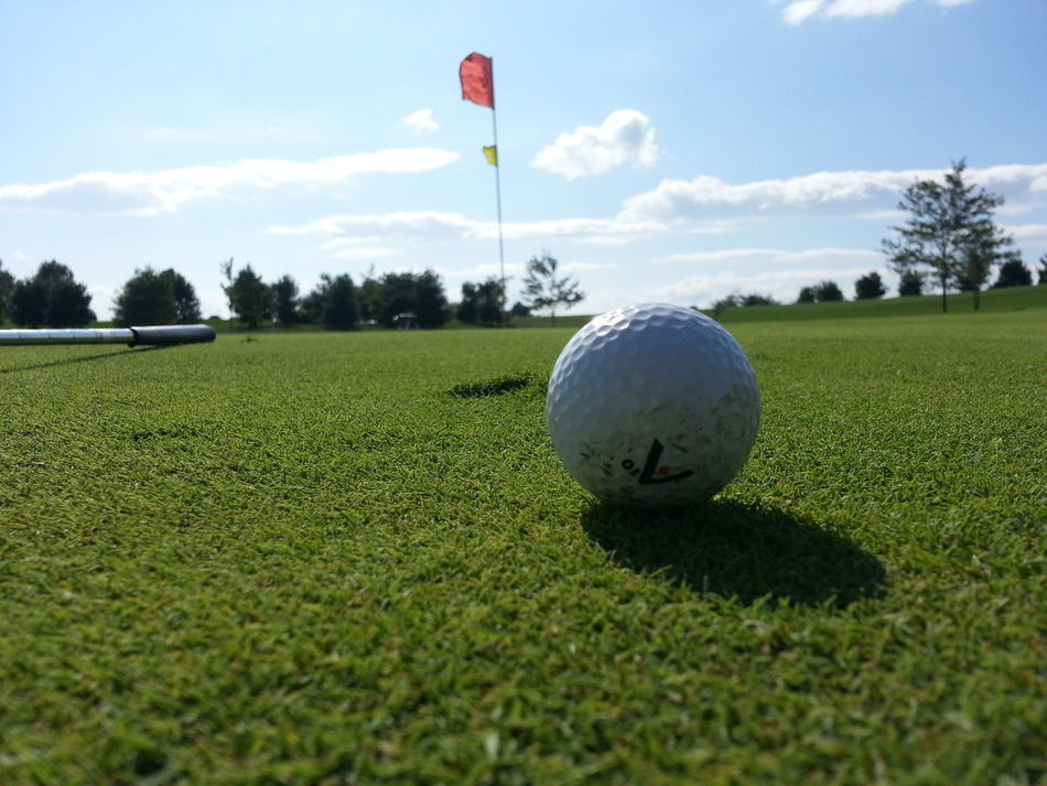 Beautiful stock photos of golf, Absence, Close-up, Cloud - Sky, Cultivated