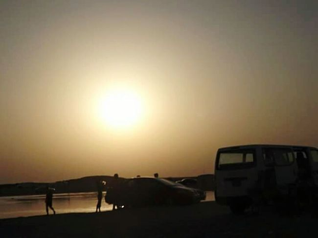 Zeekret Beach Qatar Sunset Silhouettes Sunset #sun #clouds #skylovers #sky #nature #beautifulinnature #naturalbeauty #photography #landscape EyeEm Gallery EyeEm Nature Lover Eyeemcollection Sunset FujiFilm Finepix S3400