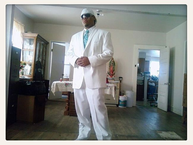 back in the day sr prom I clean up good