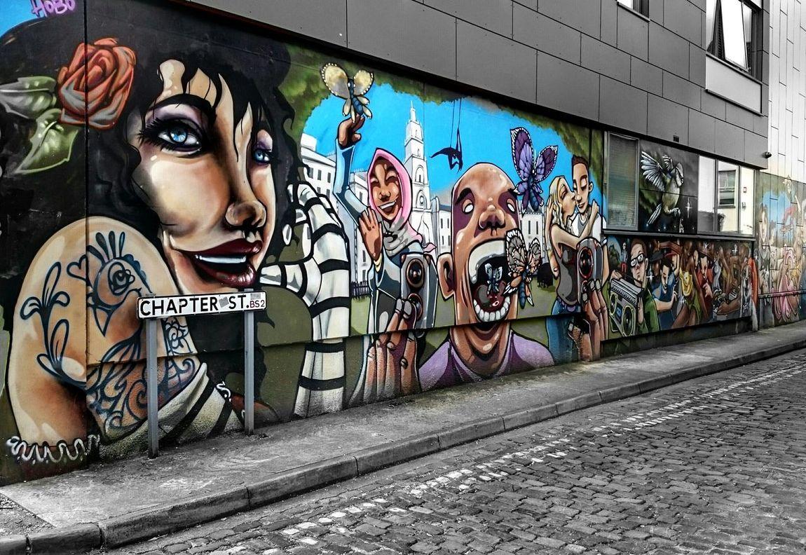 Streetart Bristol Art