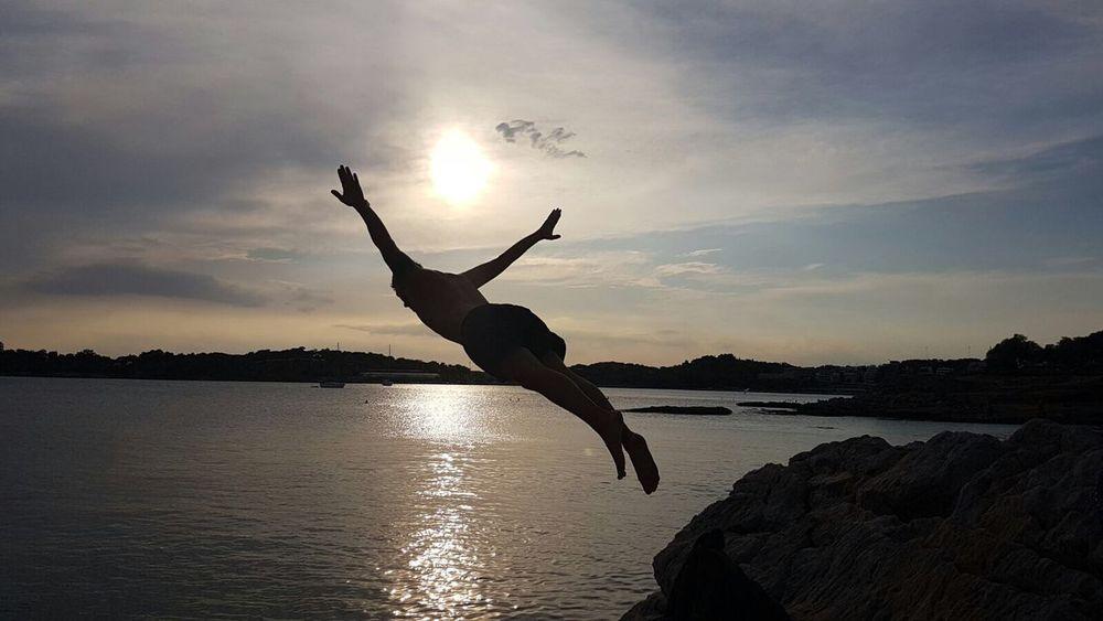 43 Golden Moments Gold Sunset Blue Sea Greece