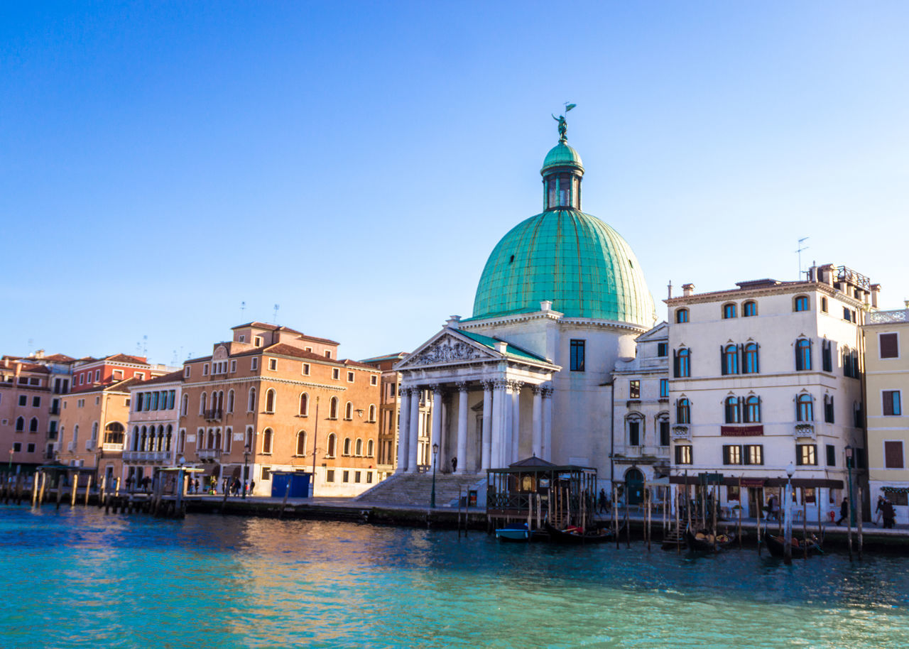 Church San Simeone Piccolo - Venice - Italy Architecture Building Exterior Built Structure Church City Cityscape Day Dome Gondola - Traditional Boat Holiday Italia Italy Lagoon Lagoon Of Venice San Simeone Piccolo Sky Travel Travel Destinations Trip Vacations Venice Venice Canals Venice Italy Water