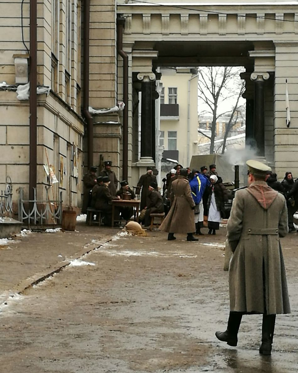 Architecture Full Length Outdoors Day People War Warrior Hospital World War I Moscow Revolution