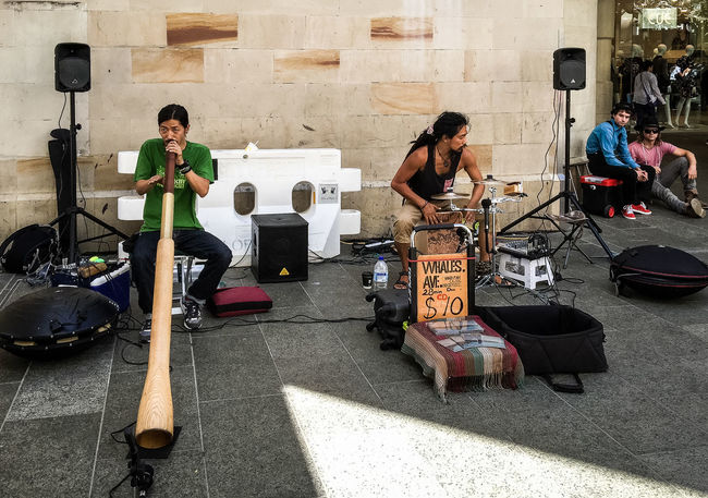 Buskers Didgeridoo Iphonephotography IPS2016People Musicians Streetphotography