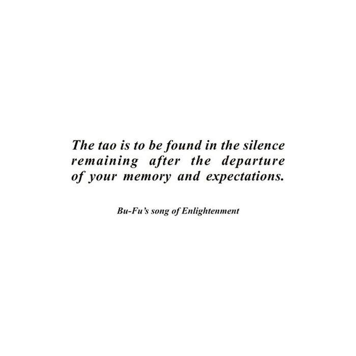 BU-FU's song of enlightenment. Chinese Tao  Philosophy BUFU Zen Monk  Traveldiaries Wisdom