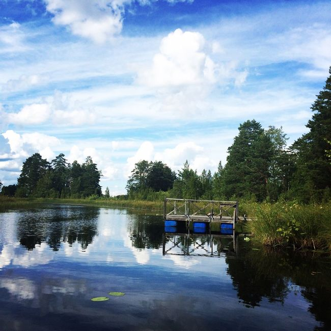 Summertime Hello World Relaxing Enjoying Life Summer Swedish Nature Taking Photos Eyeem Photography Eye4photography  Sweden Outdoors Swedish Photographers Summer Vibes Colorful EyeEm Water_collection Water My Favorite Photo