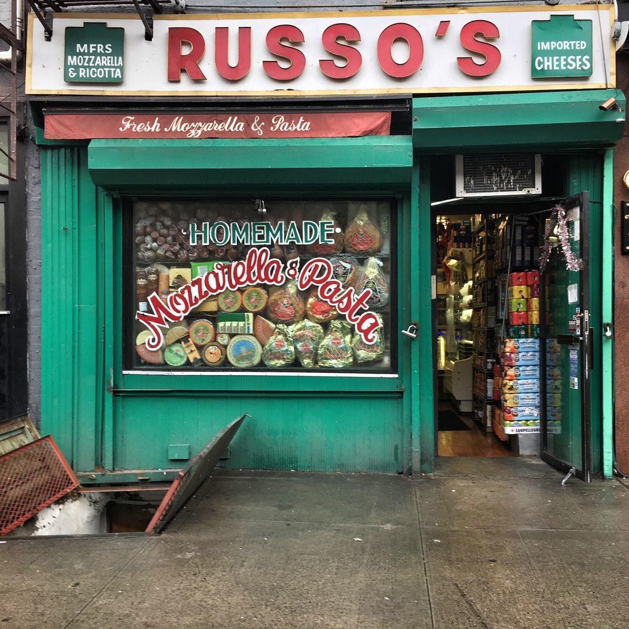 East Village Italian New York Pasta Store Store Front