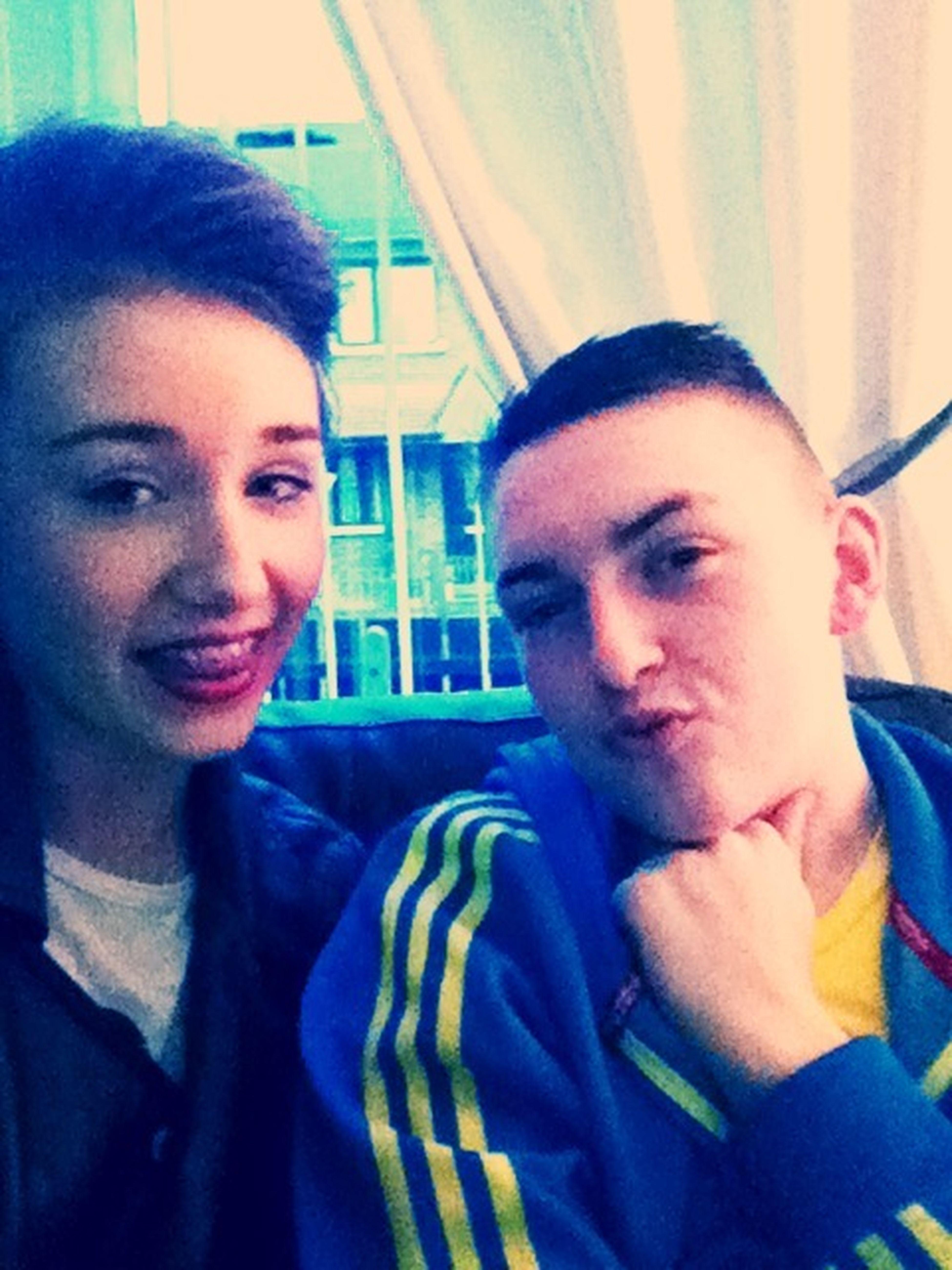 Me and Dan:):)