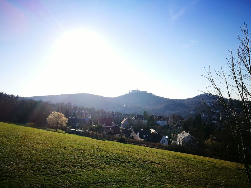 Sky Landscape Outdoors Nature Mountain Beauty In Nature No People Eisenach Wartburg Architecture Hello World Holiday Hallo