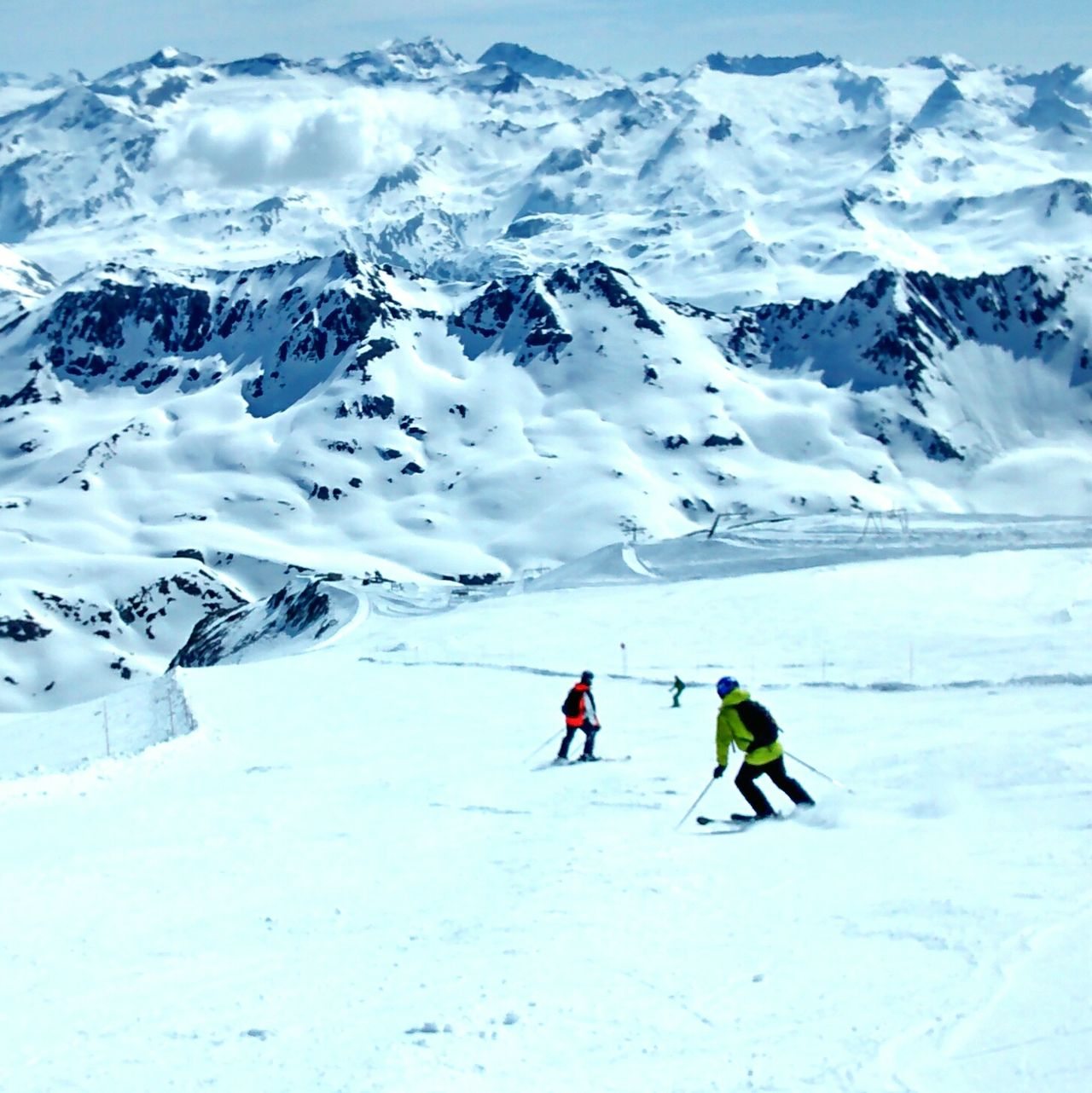 Skiing Mountains Mountain Holiday France Eye4photography  EyeEm Best Shots Snow Cold Landscape
