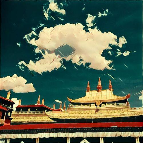 Jokang - first buddist monastery in Tibet, Lhasa тибет Tibet Travel Nirvana Monastery Jokang Temple Jokang Tibet