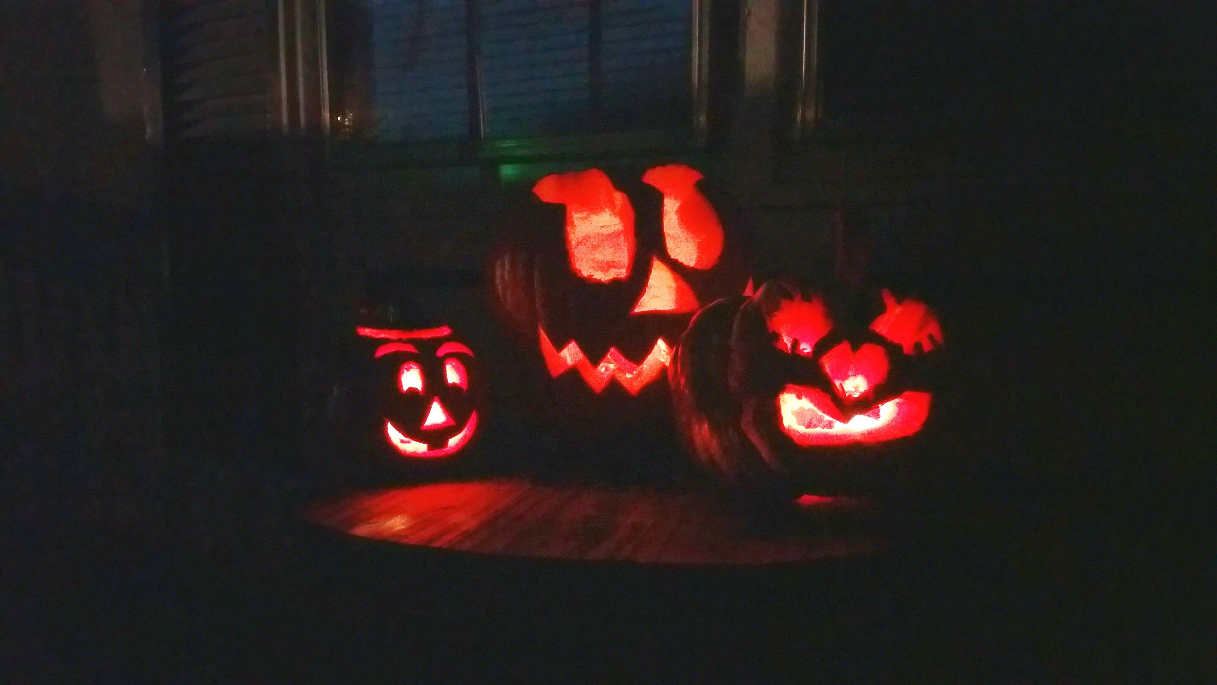 No People Night Illuminated Halloween Pumkin Carving Pumkin 🎃💎🕯 Pumk