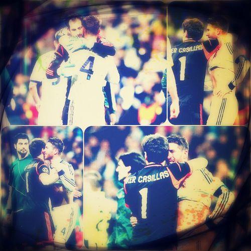 thanks ramos thanks Madrid.... respect.... fuke chance fuke football fuke referred Hala Madrid Real Madrid 2-0 Win But We Can't Go To Wembley Del Final  Sergio Ramos