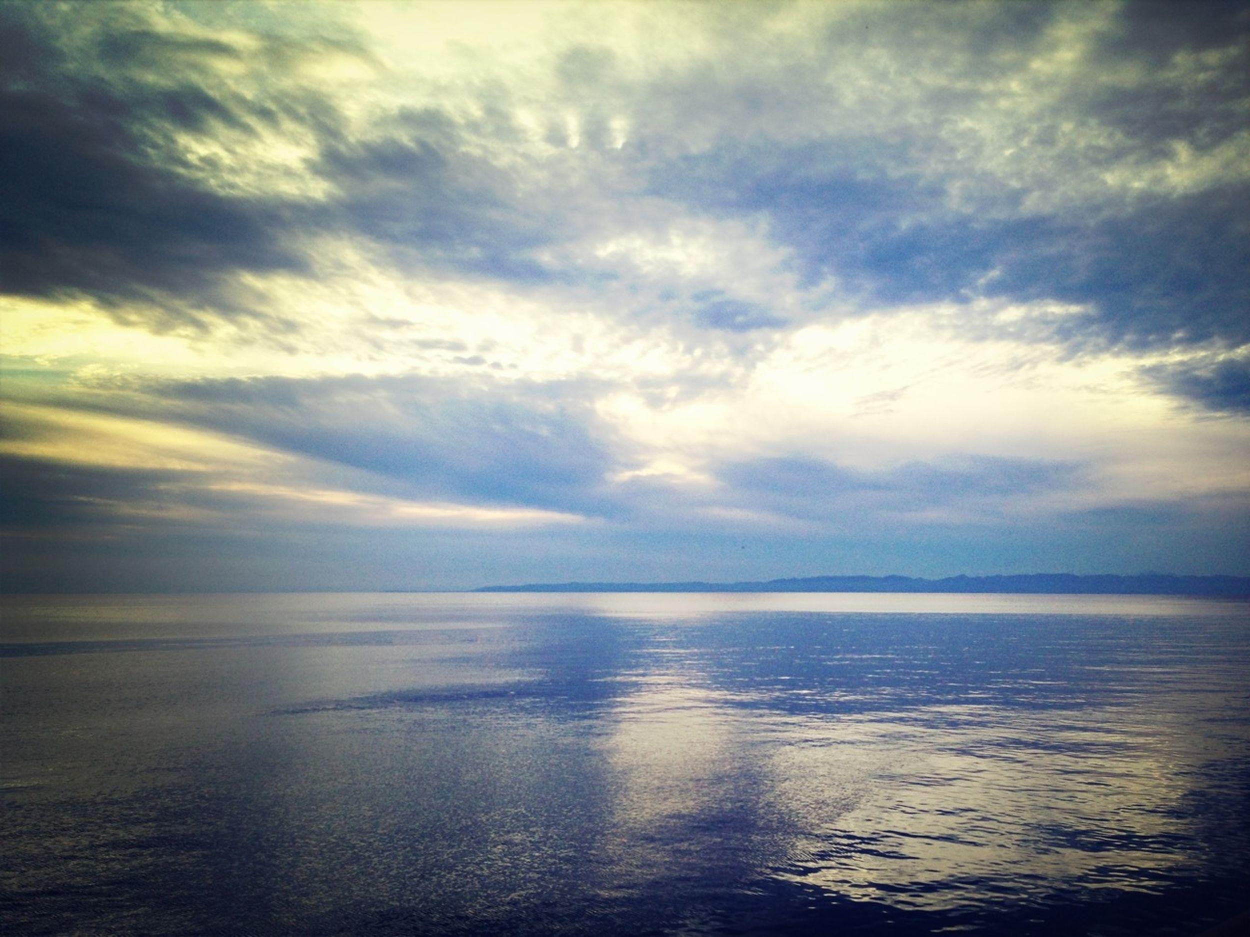 Sea Sky And Sea