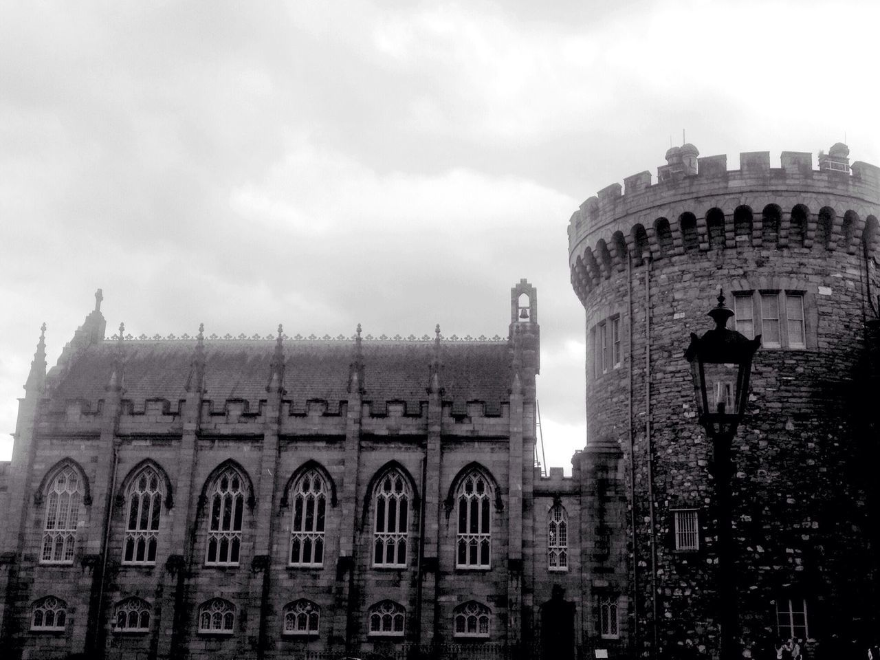 A Day out in Dublin Castle Old Fort Castle View  Black And White Dublin Tourism Tourist Beautiful Architecture Architecture