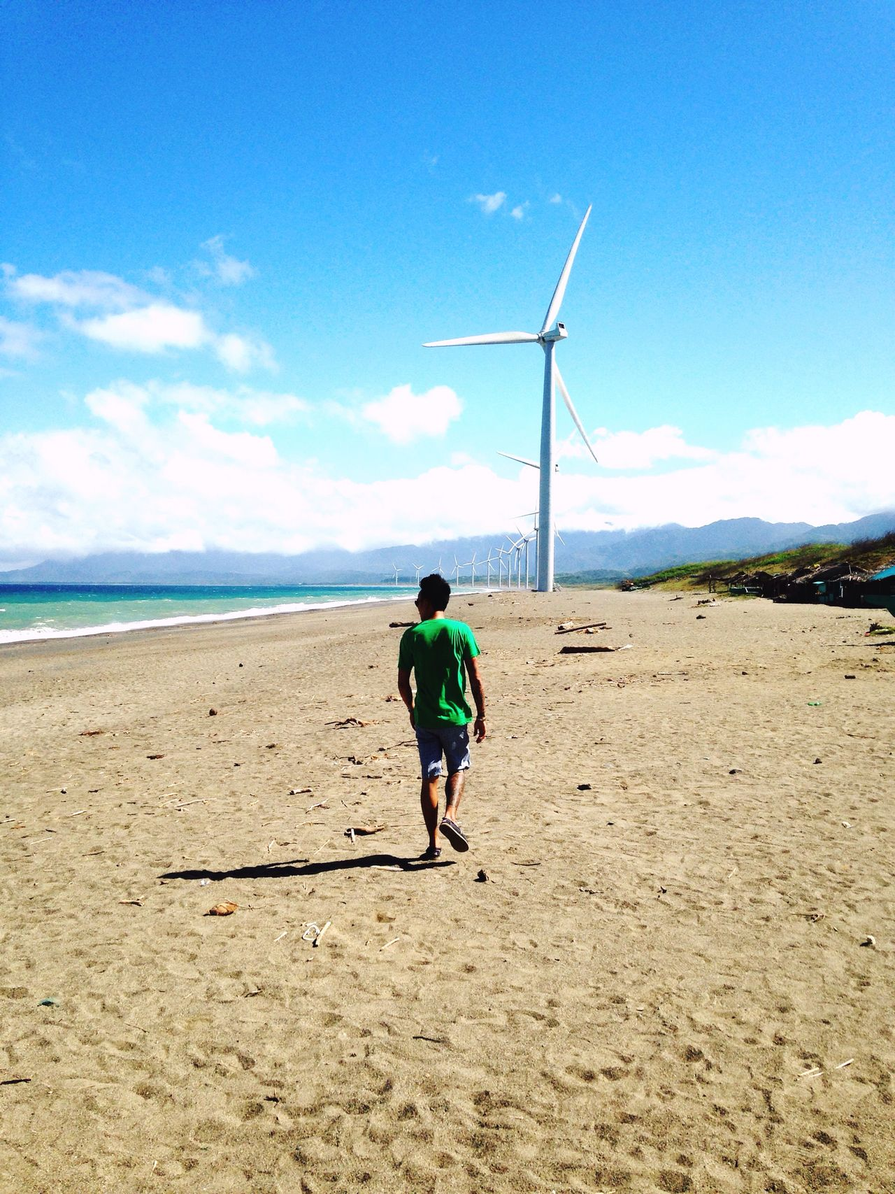 Wind above my wings Beach Pagudpud, Ilocos Norte Windmill