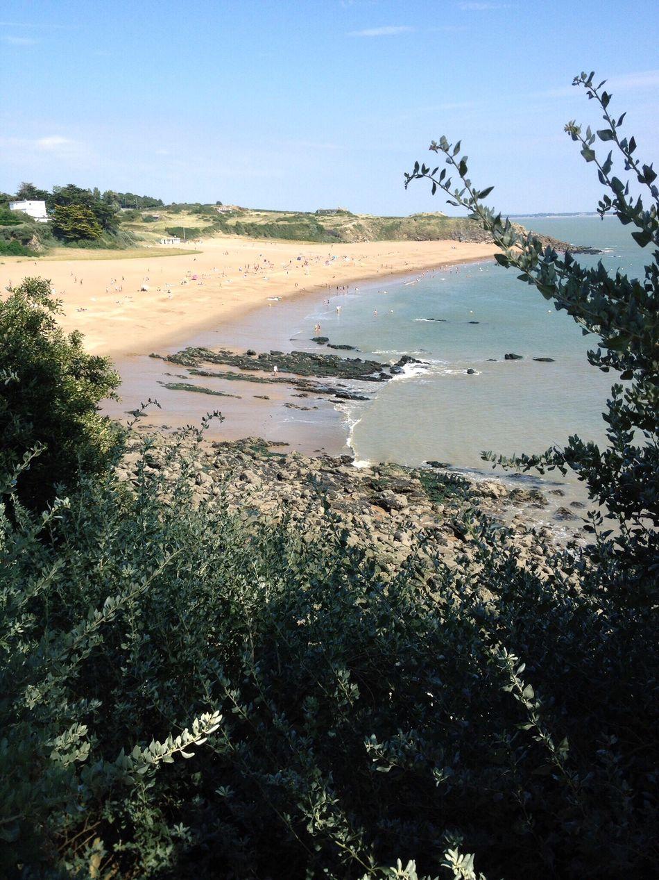 Beach Sea Saint-Marc-sur-Mer