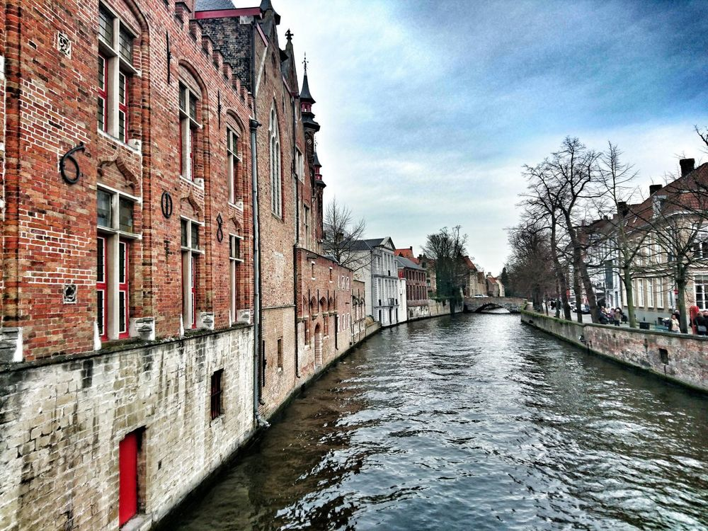 Brugge Belgium Canaux Winter Picoftheday Beaytifulview City Architecture Trip