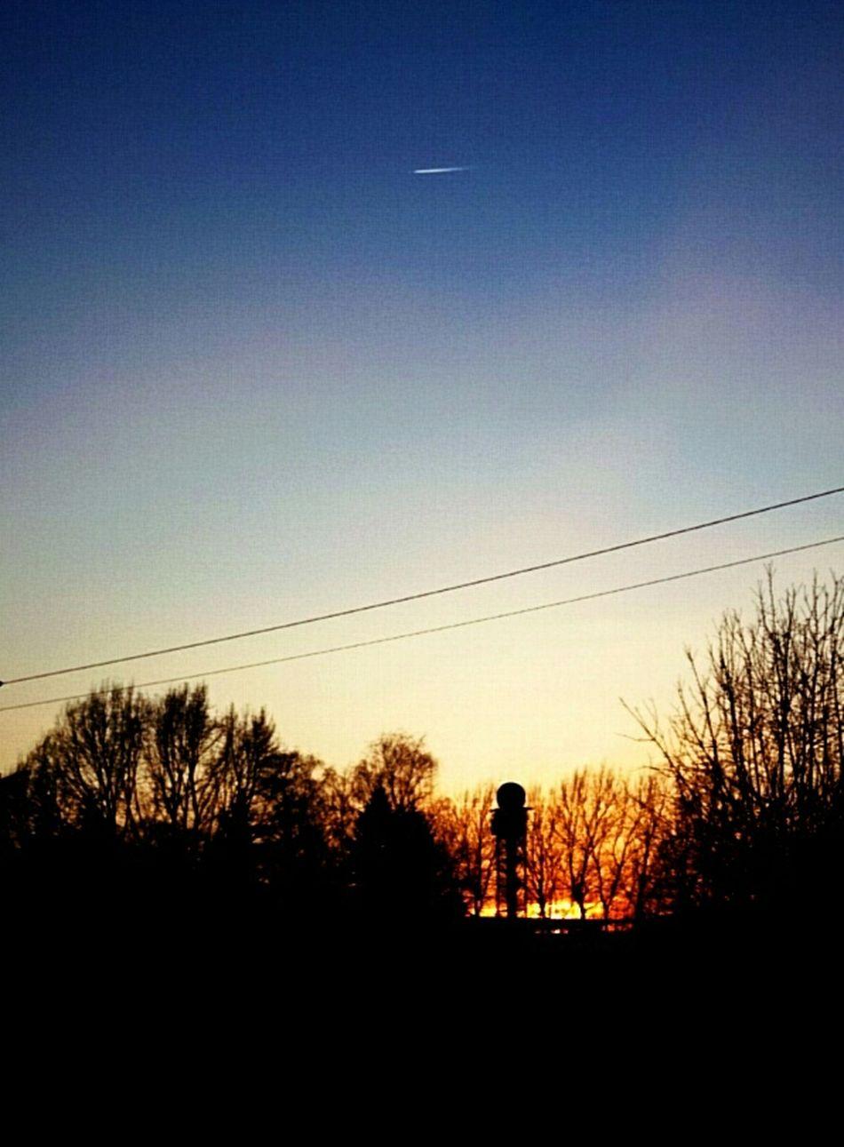 Sunset Sunset_collection Sky Blue Sky
