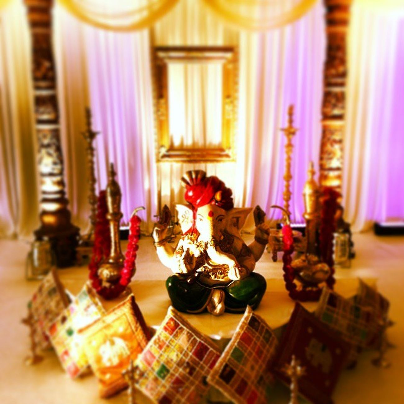Swargweddings Asianweddingexhibition Forrestofarden Marriott Mandap Ghanesh