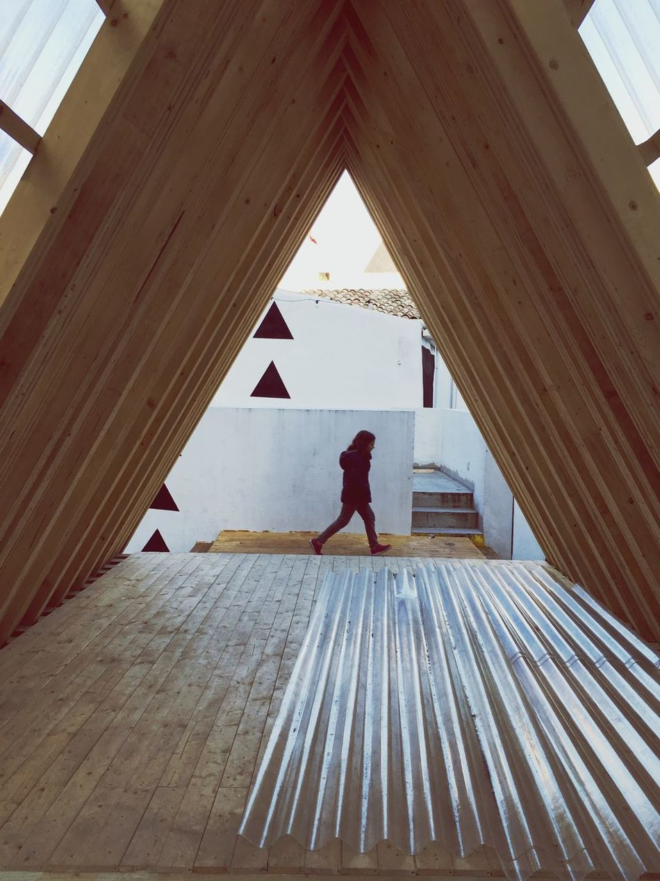 The Secret Spaces Full Length Real People One Person Leisure Activity Day Built Structure Architecture Indoors  Standing Lifestyles child Sicily, Italy Favara Agrigento Farm Cultural Park