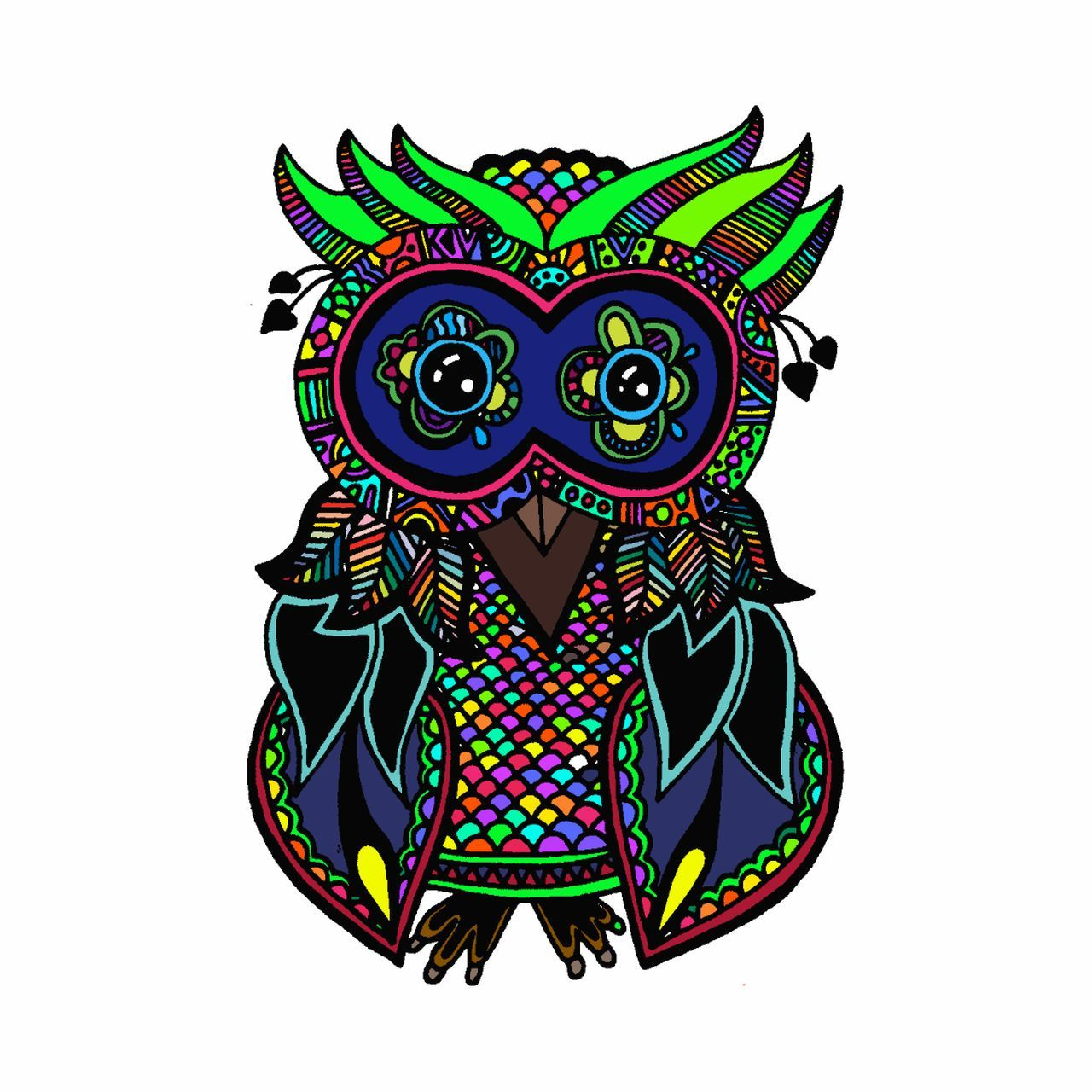 A wise old owl sat on an oak; The more he saw the less he spoke; The less he spoke the more he heard; Why aren't we like that wise old bird? A little Digital Art Owls Owl Art Digitalartwork EyeEmArtists Colorsplash Colormyworld Throughmyeyes IMYE Check This Out Vivid Color Loudthougts