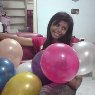 Me Indonesianwomen Balloon Birthday Birthdayparty