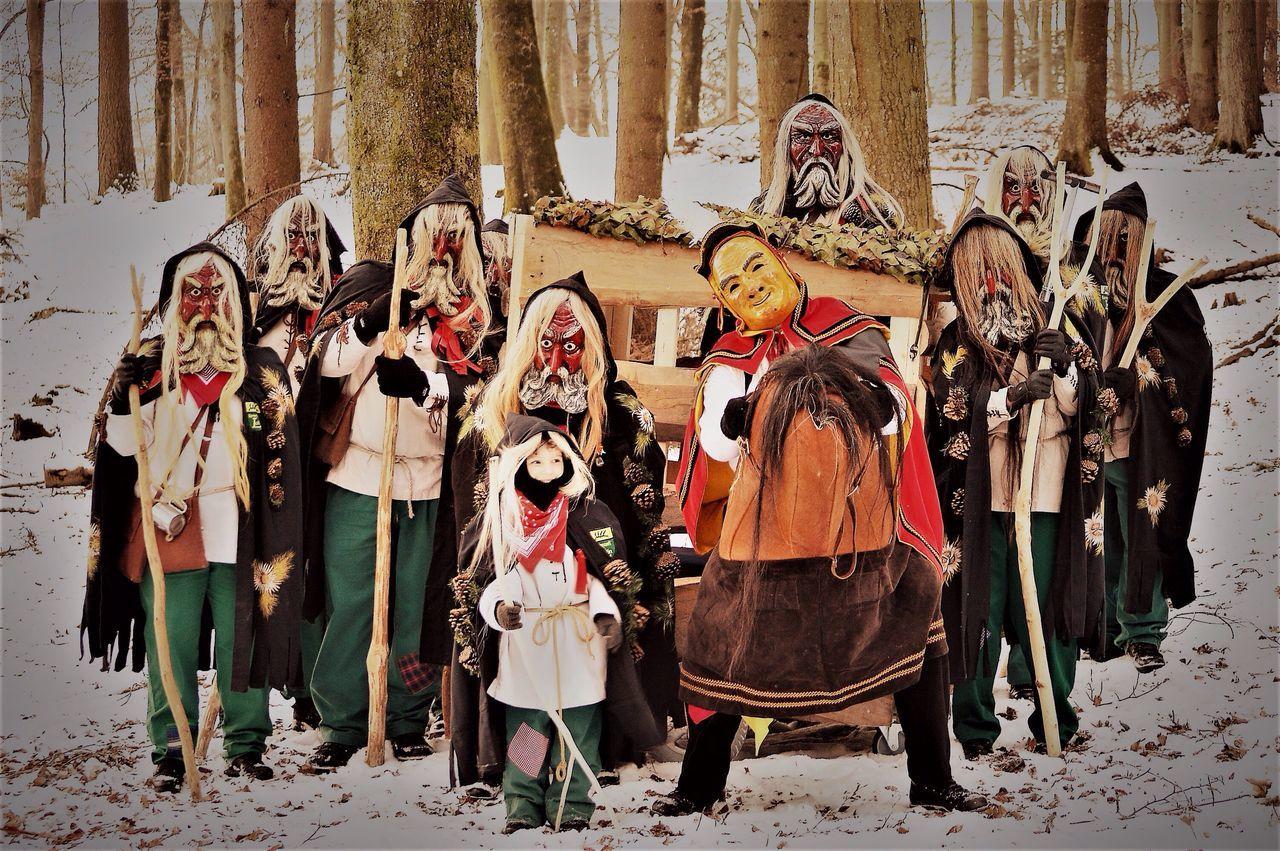 Fasching Fasnet Fastnacht Clique Friends Schwarzwald Blackforest Karneval Lauffen Feiern Hoademale