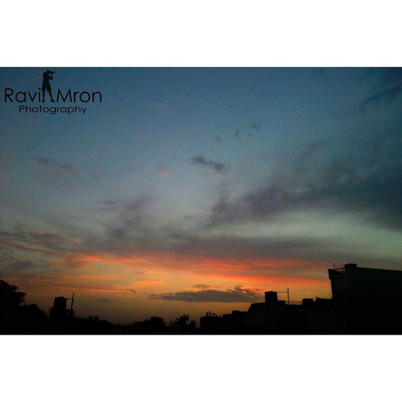 RaviMron_Photography Sunset Evening_shot Picsart_made_it_awesome