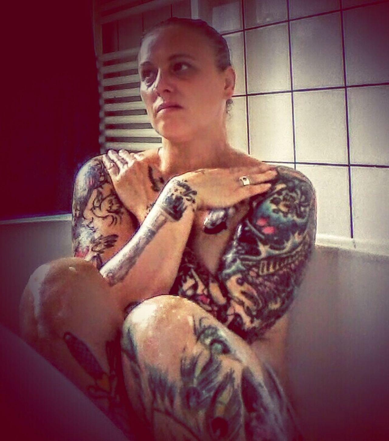 Samsungphotography Tattoos Tattedgirls Inkaddiction Bath Athome  Inkedgirls INKEDGIRL Inkstagram Tattoo