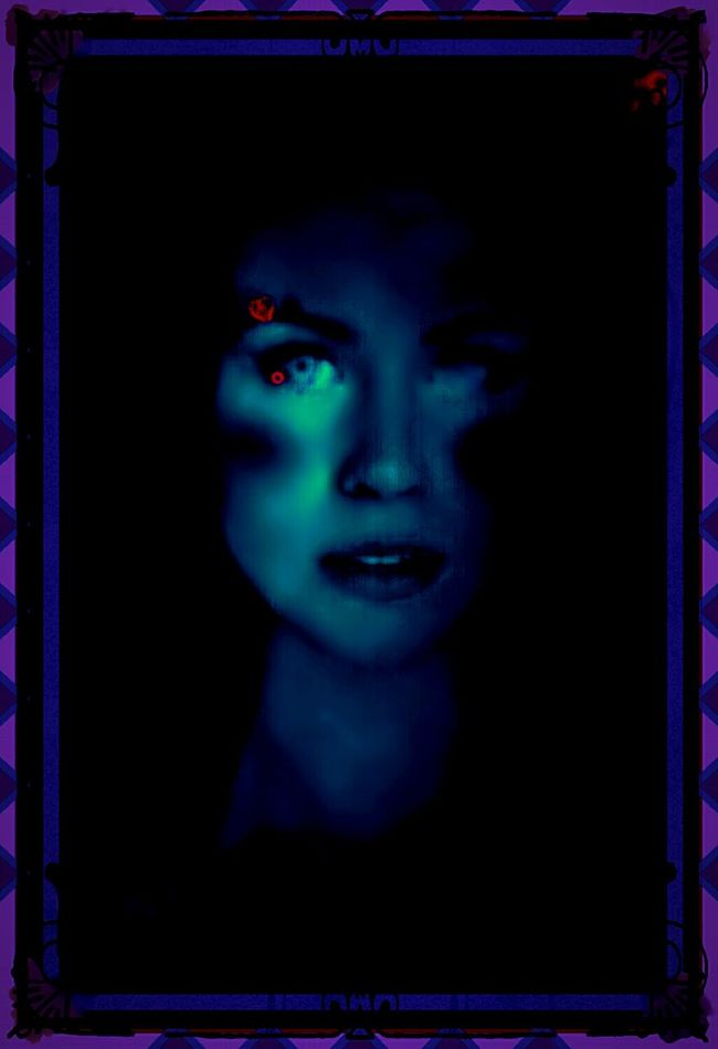 Lovely Mystique Shadows & Lights Darkness And Light The Twilight Zone Neon Lights Oddity Darkart Illusions Creative Light And Shadow Bright Colors In Darkness Imaginarium Unique Beauty The Evil Woman Foreboding Dark Art Angeleyes Twilight Nightscape Horror Portrait Bizarre Art Surrealism Grunge Art Haunting  Ghostly Face