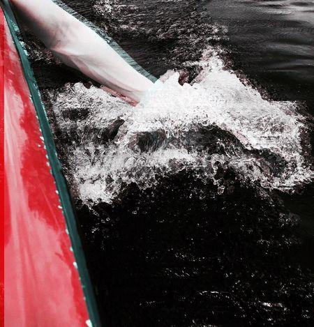 Water 3D Lake Hand Boat Atmospheric Mood Water Day Outdoors No People Sea Nature Nautical Vessel Wave Close-up (null)The Week On EyeEm EyeEm Best Shots EyeEm Best Edits EyeEm EyeEmBestPics