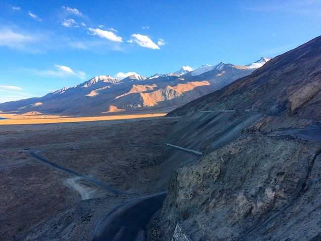 My Year My View Mountain Beauty In Nature Scenics Nature Leh Leh Ladakh.. Leh Ladakh Leh Ladakh India Pangong Pangonglake Road Roadtrip Road Mountain Journey Road Journey Finding New Frontiers