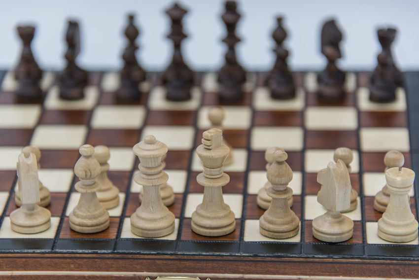 Arrangement Board Game Checked Pattern Chess Chess Board Chess Piece Close-up Day Focus On Foreground In A Row Indoors  King - Chess Piece Knight - Chess Piece Large Group Of Objects Leisure Games No People Pawn - Chess Piece Queen - Chess Piece Still Life Strategy