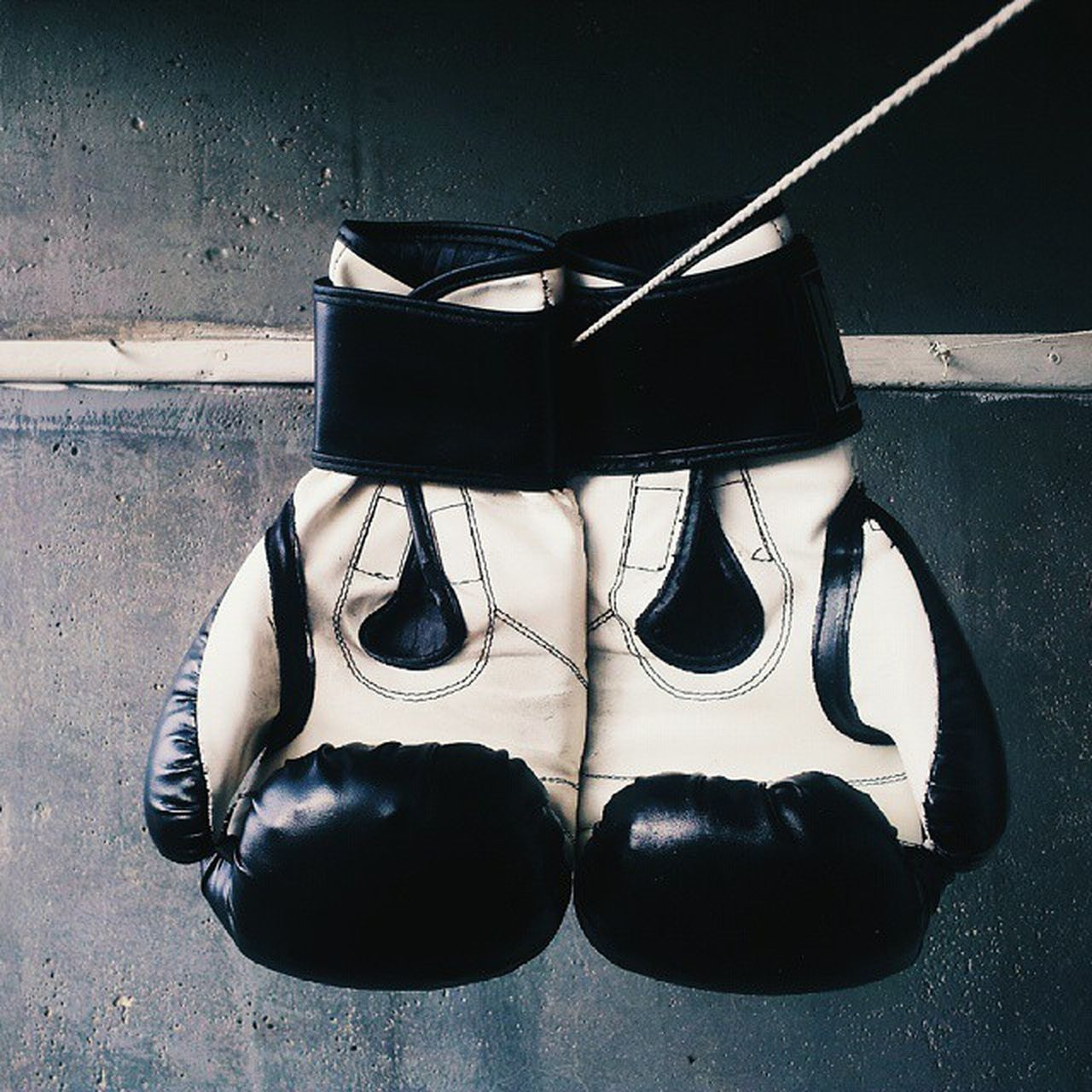 Old Boxing Gloves Box