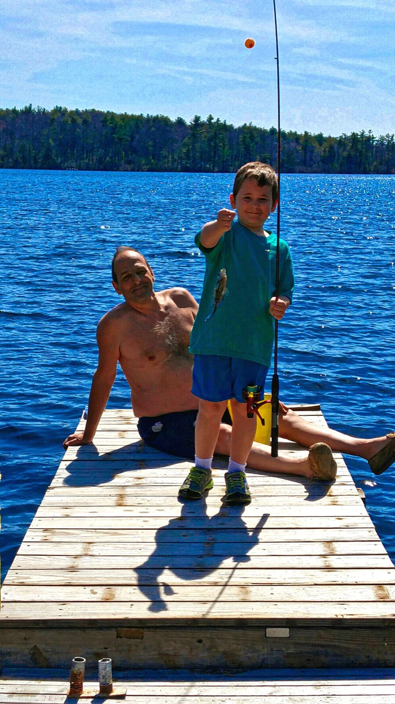 L.Adkins Photography Massachusetts New England Summer Feel The Journey Eyemcaptured Eyem Community EyeEm Gallery Fresh On Eyeem  Eyemmarket My Style ❤ United States Massachussets Lakelife Little Boy Summertime Little Boy Caught First Fish Little Boy Fishing With Grampa Eyemphotography Original Experiences