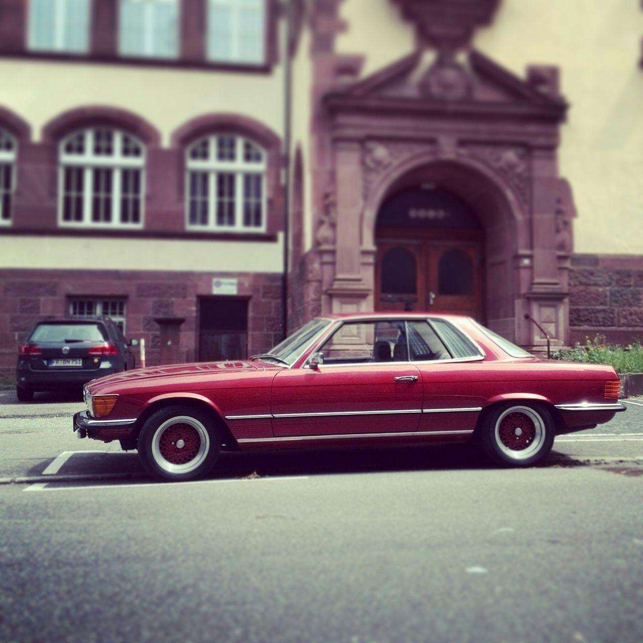 Soloparking Mercedesbenz 380sl Dreamcar Freiburg Im Breisgau Freiburg Mercedes Benz 380 Classic Car V8 Mercedes Benz