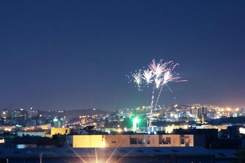 Happy New Year 2015 For All My Friends Enjoying The View Watching Fireworks