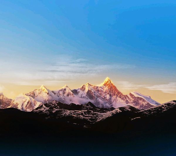 Красивейший вид на горы в Гималаях Hello World First Eyeem Photo