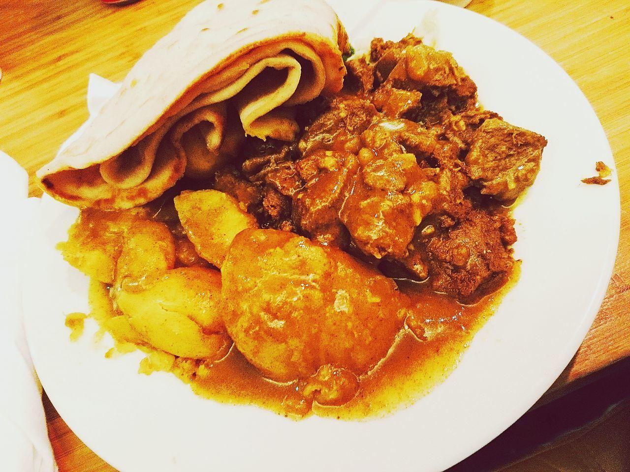 Lovely Food Surinam Food Roti Lamb Foodspotting Food Photography Foodpic