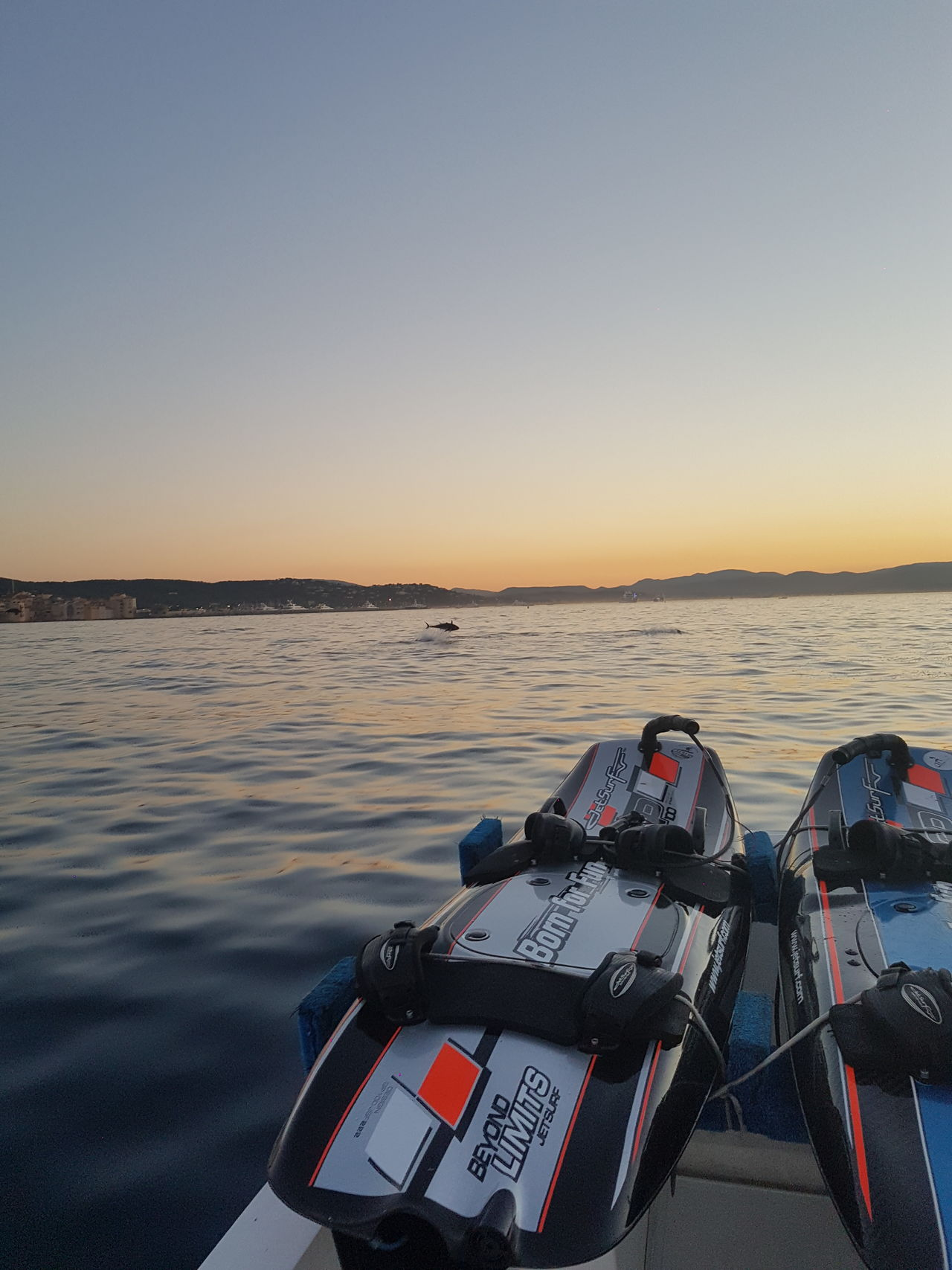 Tuna Jetsurf Sunset Sea No People Outdoors Water Travel Beauty In Nature Saint-Tropez