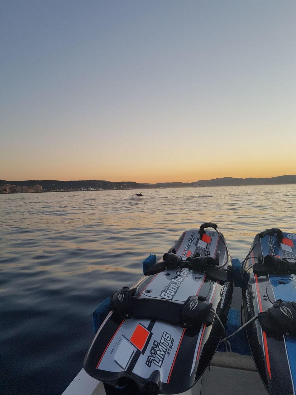 Tuna Jetsurf Sunset Sea No People Outdoors Water Travel Beauty In Nature Saint-Tropez