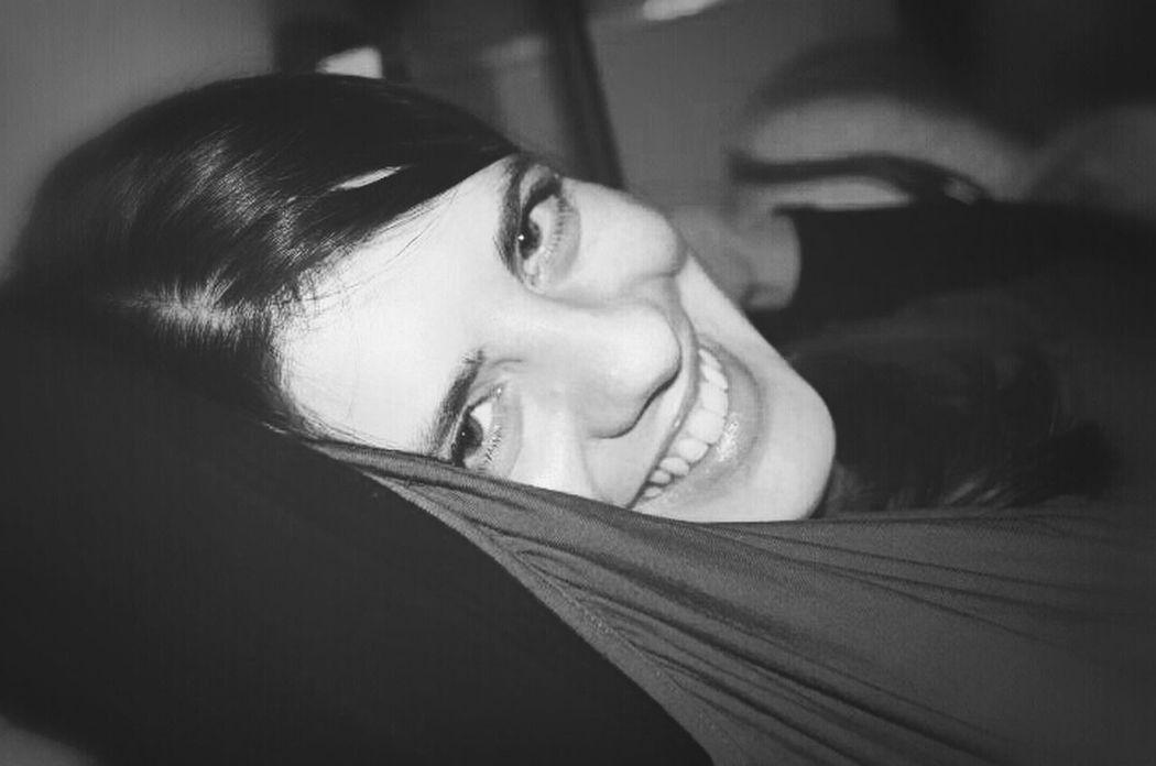 Blackandwhite Portrait Smile Juliette Juliette