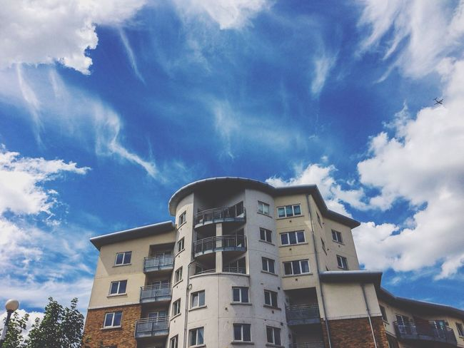 Taking Photos Clouds And Sky Building Street