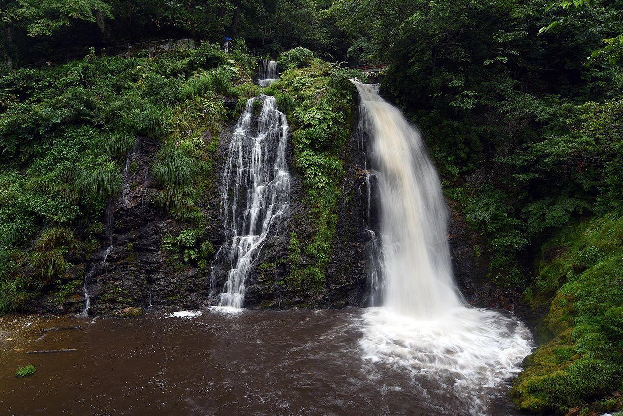 Ginzan Ginzan Spa Japan Onsen Tohoku YAMAGATA Waterfall